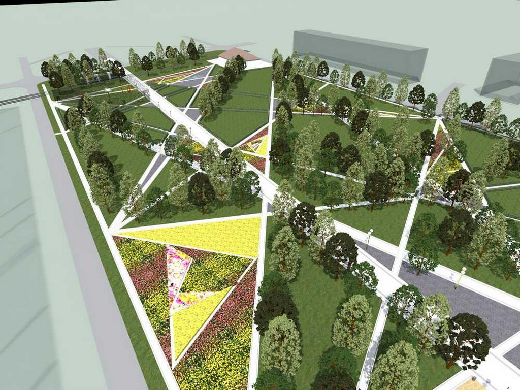 Дизайн проект бульвара
