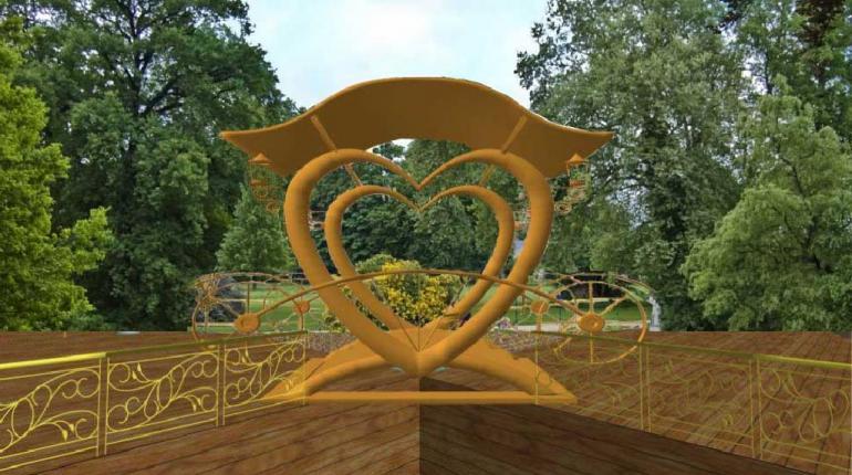 Терраса для жениха и невесты или возлюбленной пары (Терраса «Вечность»)