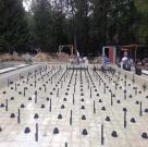 Регулируемые опоры в монтаже фонтана 2