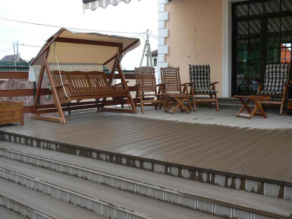 werzalit terraza terradeck. Black Bedroom Furniture Sets. Home Design Ideas
